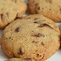 Biscuits apéritifs au comté vieux, noix & canneberges séchées