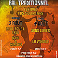 Ce week-end 2 bals à la poétrie !