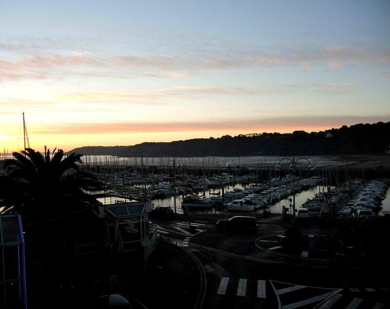 Binic, coucher de soleil sur le port (22)