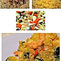 Quinoa safrané