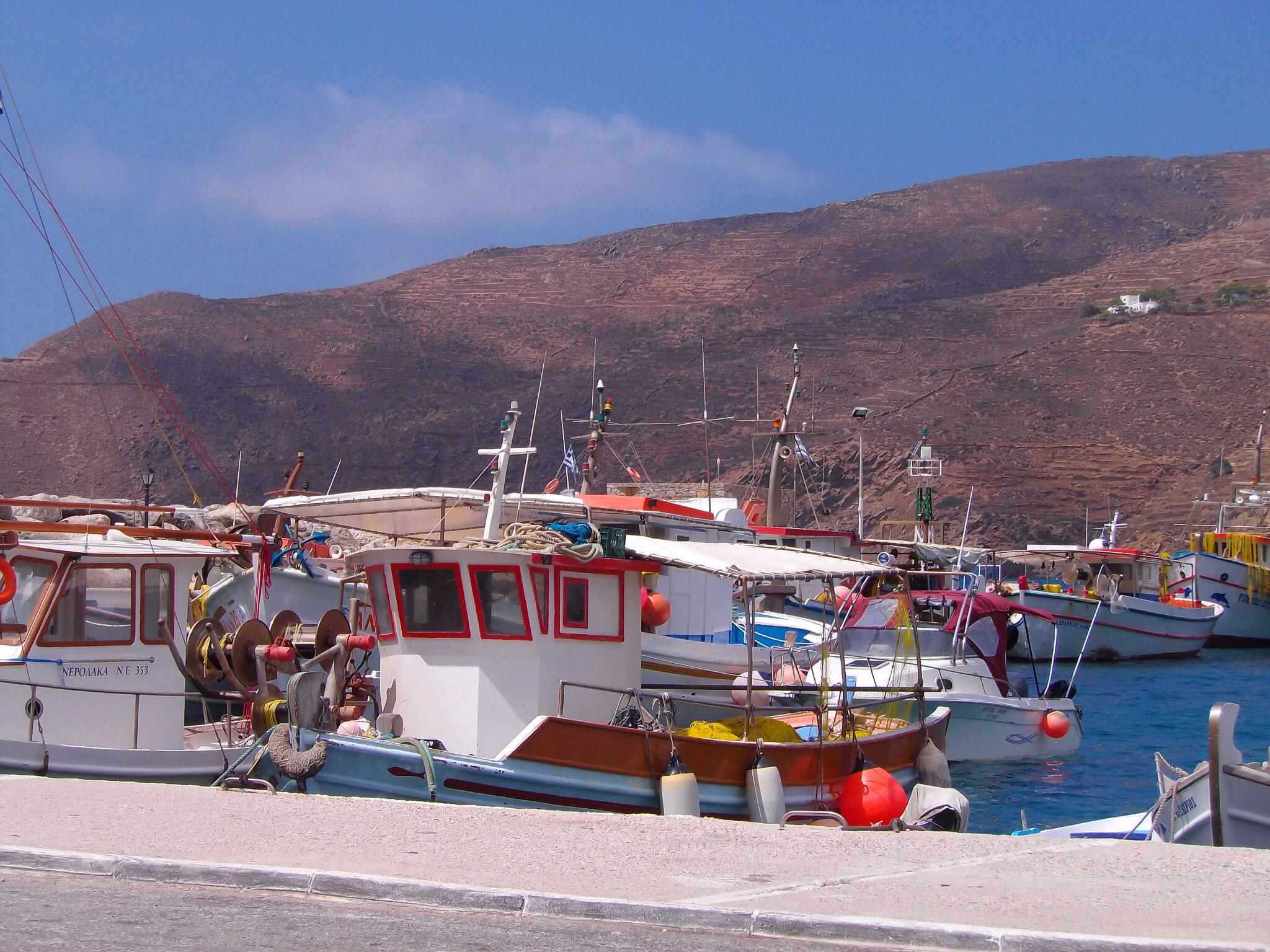 Amorgos, l'Île du Grand Bleu... mais pas seulement