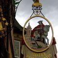 Enseigne caractéristique de l'Alsace