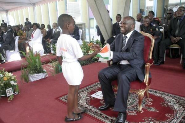 LE PRÉSIDENT LAURENT GBAGBO : «CE N'EST PAS SOUS MON MANDAT QUE LA CÔTE D'IVOIRE VA SE SOUMETTRE»