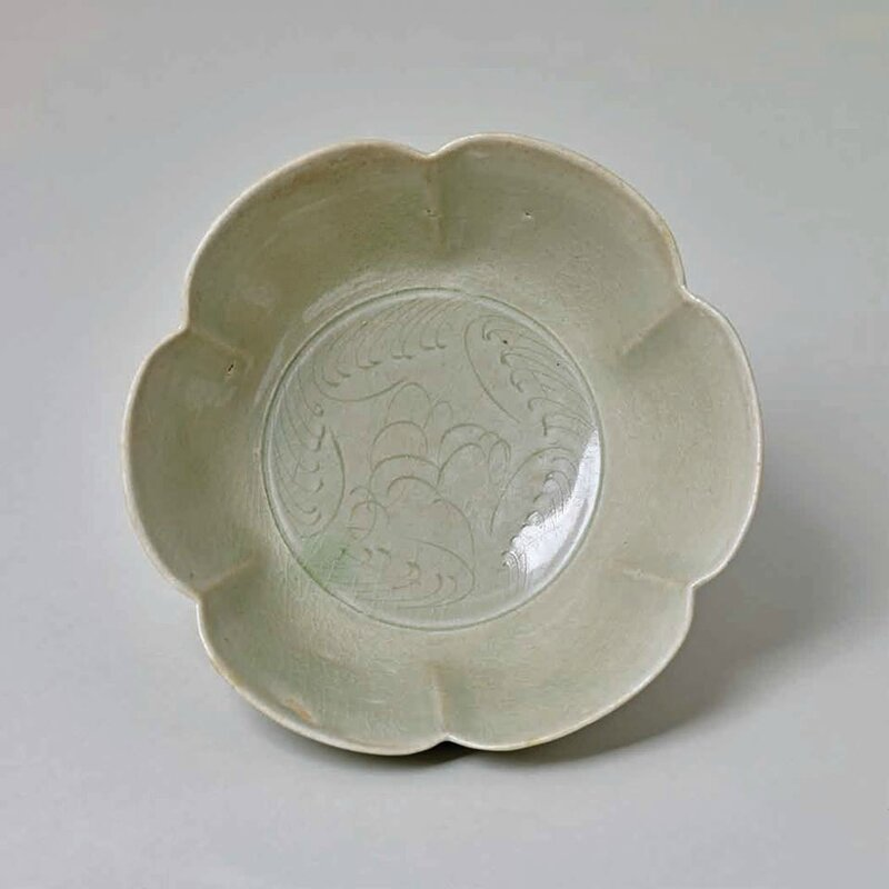Yue-Type Foliate Form Bowl, Northern Song Dynasty, 960-1127 A