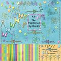 kit The Papillonne 1er kit freebies