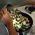Portrait de cuisine : chez pauline, cocottes de légumes à la féta