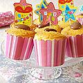 Muffins au chocolat vanille & mini cakes chocolat orange
