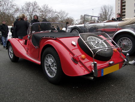 MORGAN Plus 8 Roadster Retrorencard 2