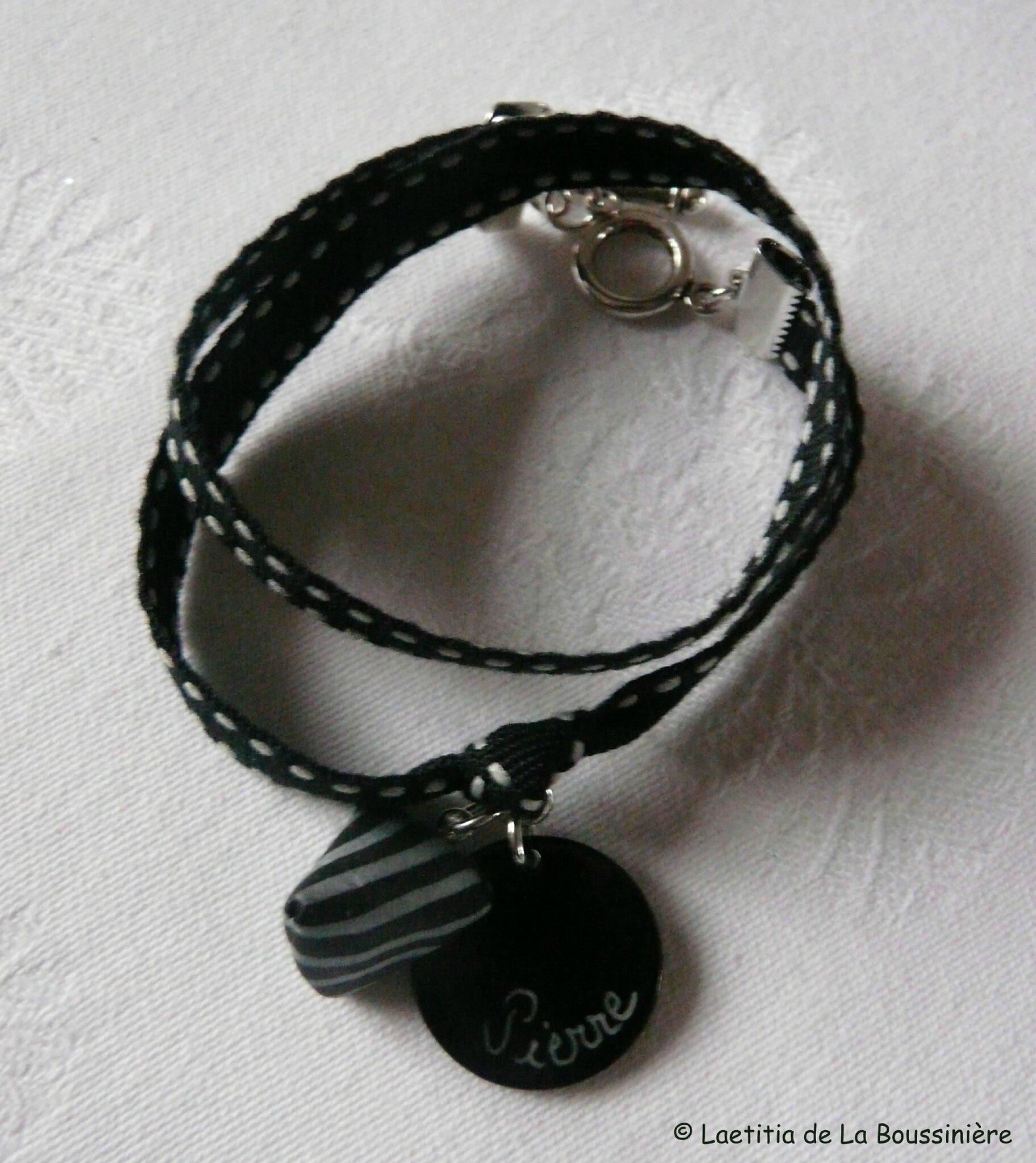 Bracelet médaille et berlingot