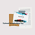 National scrapbooking day 2019