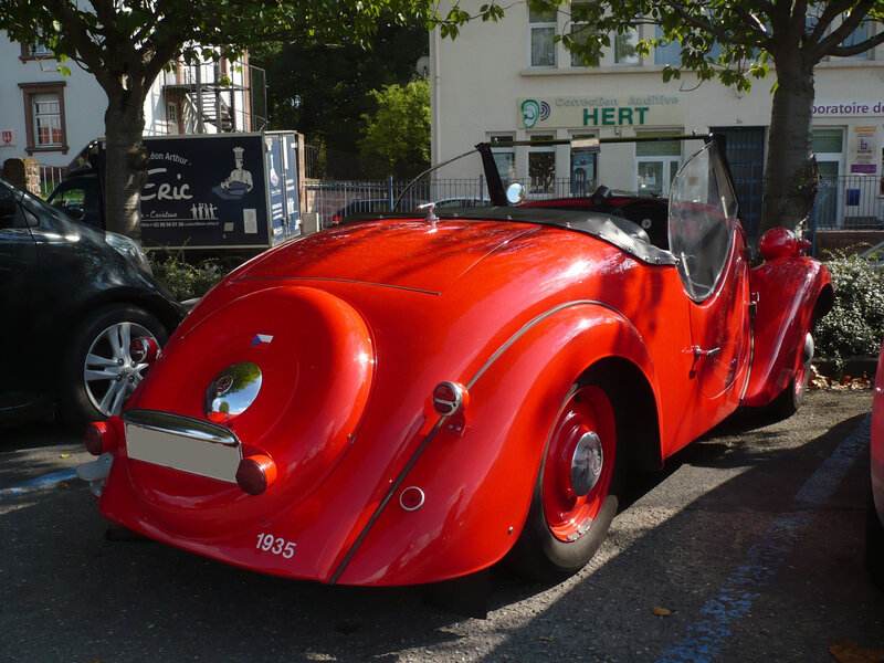 SKODA 420 Popular roadster 1935 Wissembourg (2)