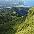 Montagne Pelée, vue sur Saint Pierre