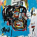 Jean-michel basquiat's 'untitled' from 1982 achieves $110.5 million at sotheby's new york