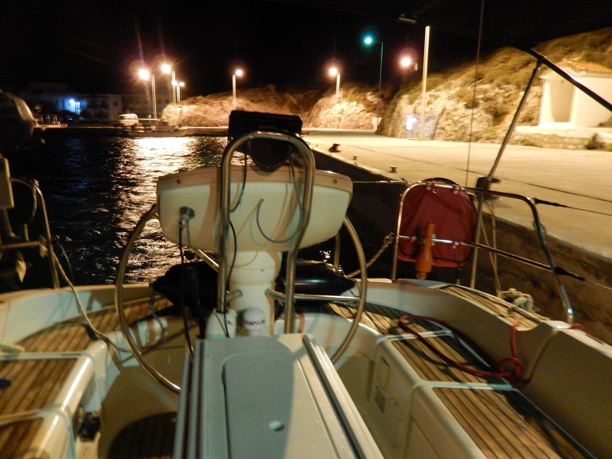 Arrivée au port de Cythère 300914