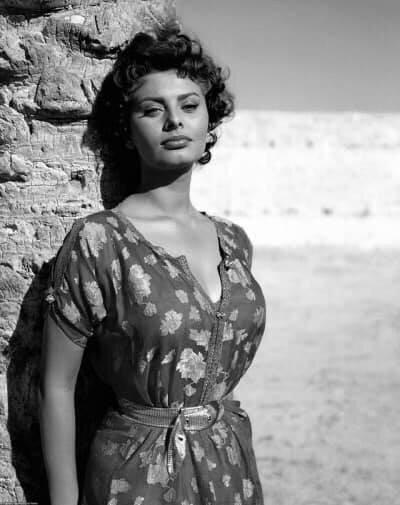 Sophia Loren 1957.