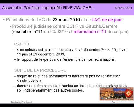 Diapo présentation RG1-2011 11