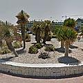 Rond-point à platja de l'arenal (espagne)