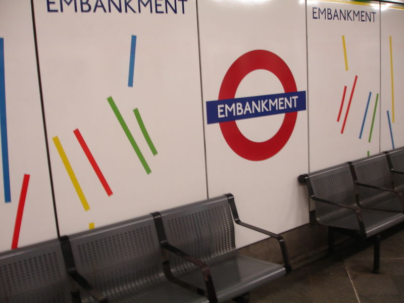 London Underground : Station Embankment