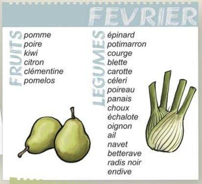 legumes fevrier
