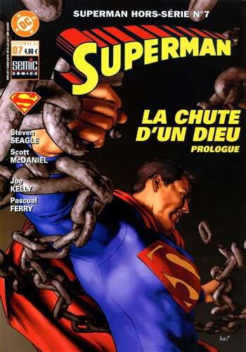 semic superman hs 07 la chute d'un dieu prologue