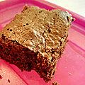...gâteau au chocolat pour les filles du greta...