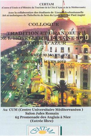 colloque CEHTAM