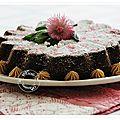 Gâteau spéculoos praliné.....la tuerie du mardi soir!