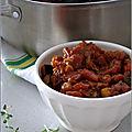 Ratatouille a la sauce tomate frito