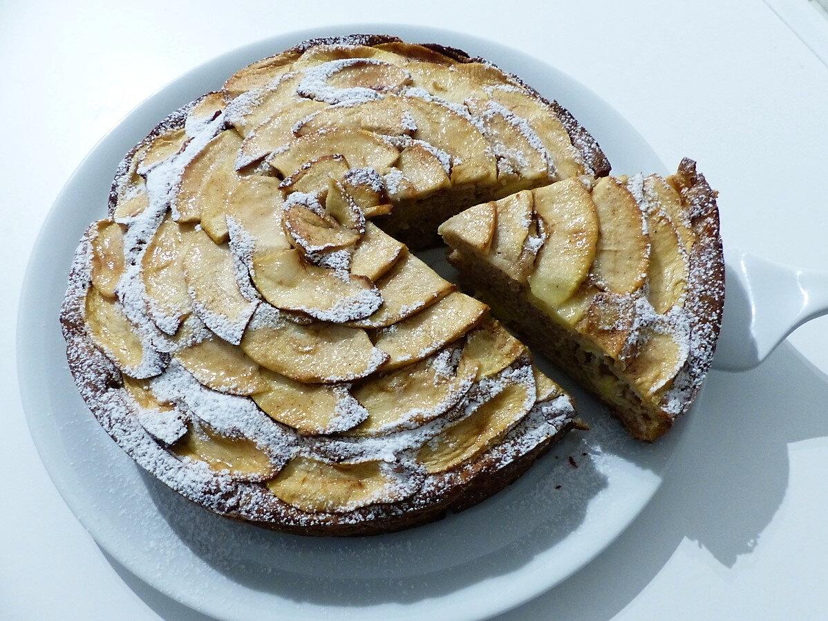 Gâteau aux pommes et au mascarpone (Torta di mele e mascarpone)