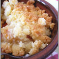 Crumble version pommes