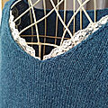 Pull secret détail encolure