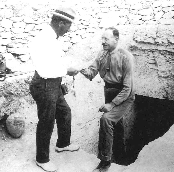Howard Carter et Lord Carnarvon