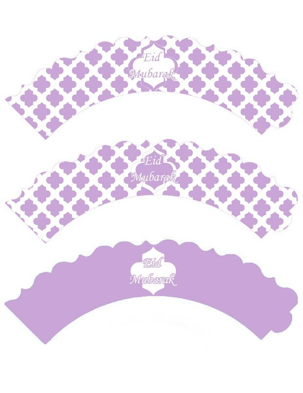 cupcake wrappers mauve