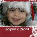 Carte joyeux noel 2007