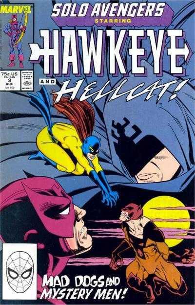 solo avengers starring hawkeye 09 hellcat