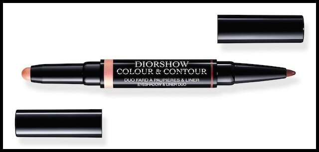 dior glowing gardens duo fard paupieres eye liner orchid