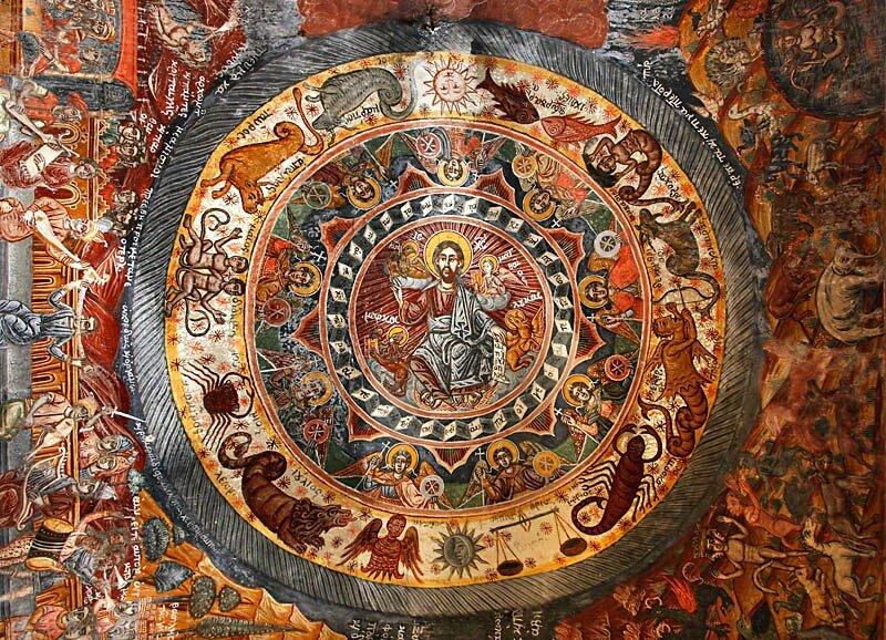 Jesus et les 12 signes du zodiaque