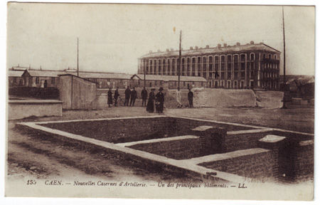 14 - CAEN - Nouvelles casernes d'artillerie