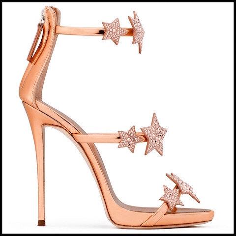 giuseppe zanotti sandales harmony star 5