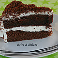 Red velvet cake au cacao