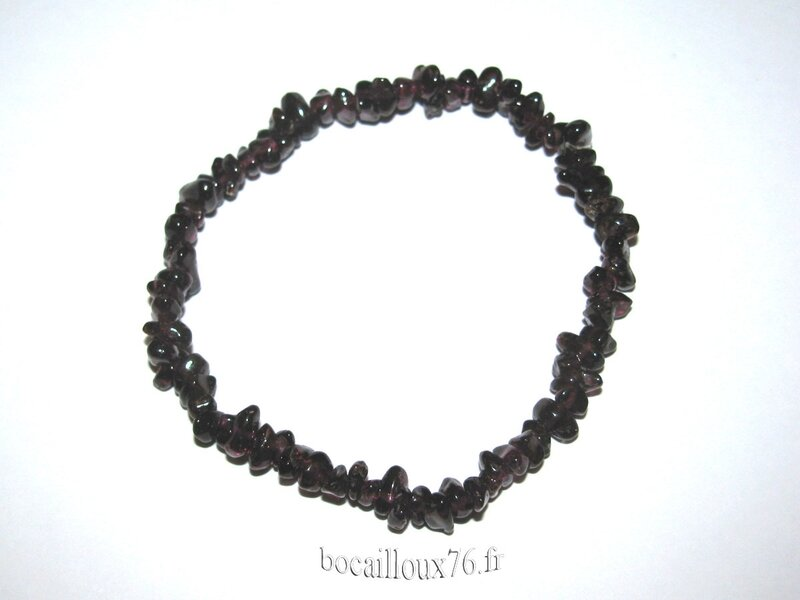 Bracelet GRENAT 3 Chips (2)