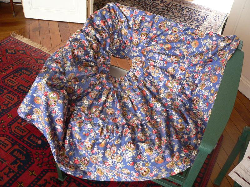 une jupe de gitane pour camille  taille 10 ans