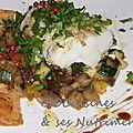 Légumes-poisson-thym-gingembre