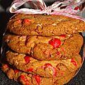 Cookies vanille pralines