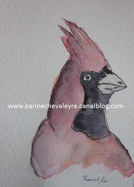 """""""L'Oiseau rouge"""""""