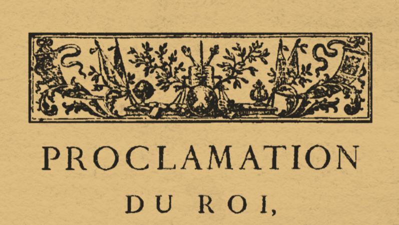 Le 13 novembre 1790 à Mamers : Lois.