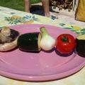 Brochette de legumes