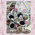 Truffes châtaignes chocolat &noisettes