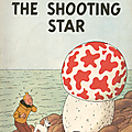 Tintin - the shooting star