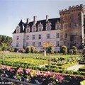 Le château de Villandry et son célèbre potager…